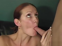 Young slut rides her doctor is smokescreen dick
