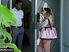 Massive aggressive dick is everything lustful white piece of baggage Cherie Deville desires every day
