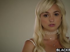 BLACKED First Interracial Be expeditious for Hot Babe in arms Blondie Eliza - ANALDIN