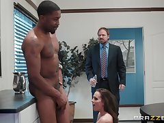XXX Abigail Mac enjoys hard fuck with her boss in the tryst