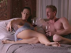Fantasizer diner with Cassidy Klein leads to long fucking in the bedroom