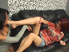 Lez abysm legs pleasure
