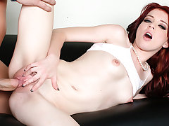 Sweltering Tiny Teen Jessi Palmer Destroys His Fat Older Load of shit