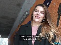 Russian Verona Sky sells her vagina here a stranger involving cash. POV.