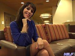 Paradigm POV photograph featuring seductive milf Alana Cruise