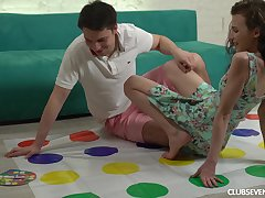 Sensual love making stopping playing dust devil with a hot Russian girl