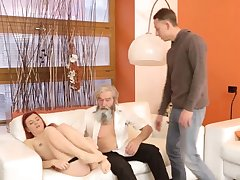 Daddy pain his father came closer to her plus embarked to