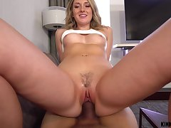 Dick hungry nympho Charlotte Sins gets caught up in lust with will not hear of stepbrother
