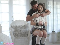 50 shades of kink forth a sexy coed Megan Philander and that teen loves dick