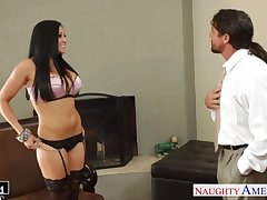 Personal assistant Audrey Bitoni wanna be fucked hard away from Tommy Gunn