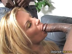 PAWG mature wife is cheating on her tighten one's belt almost a handful of big black males