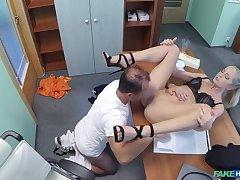 Doctor fucks his hot bosses wife